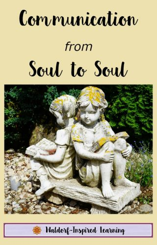 Communication from Soul to Soul: Storytelling in Waldorf Education