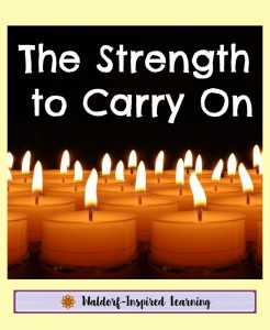 The Strength to Carry On Homeschooling