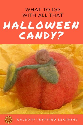 Ideas for what to do with all the Halloween candy