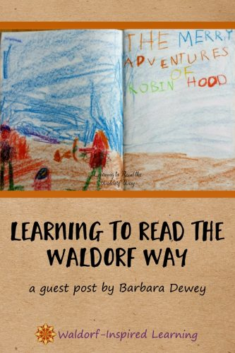 Learning to Read the Waldorf Way