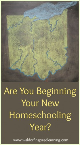 Are You Beginning Your New Homeschooling Year?