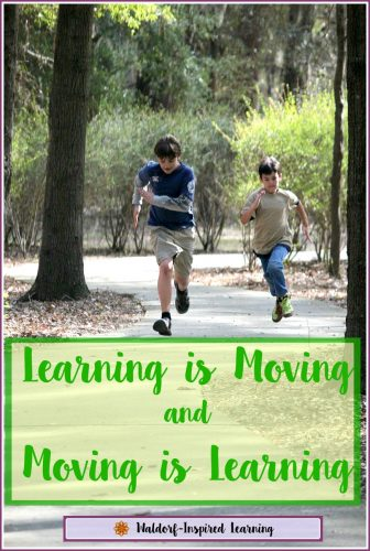 Learning is Moving and Moving is Learning