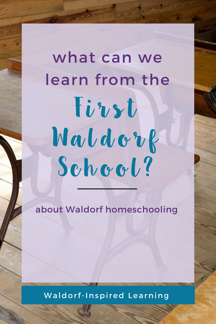 What Can We Learn from the First Waldorf School?